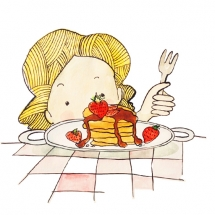 pancakes_illustration_freewildsoul