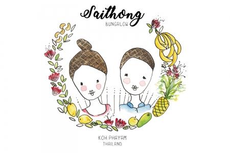 Header und Illustration | Urlaubsressort saithong-bungalow.com