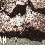Rohvegane Reste-Brownies