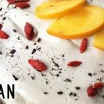 Rohvegane Möhren-Torte