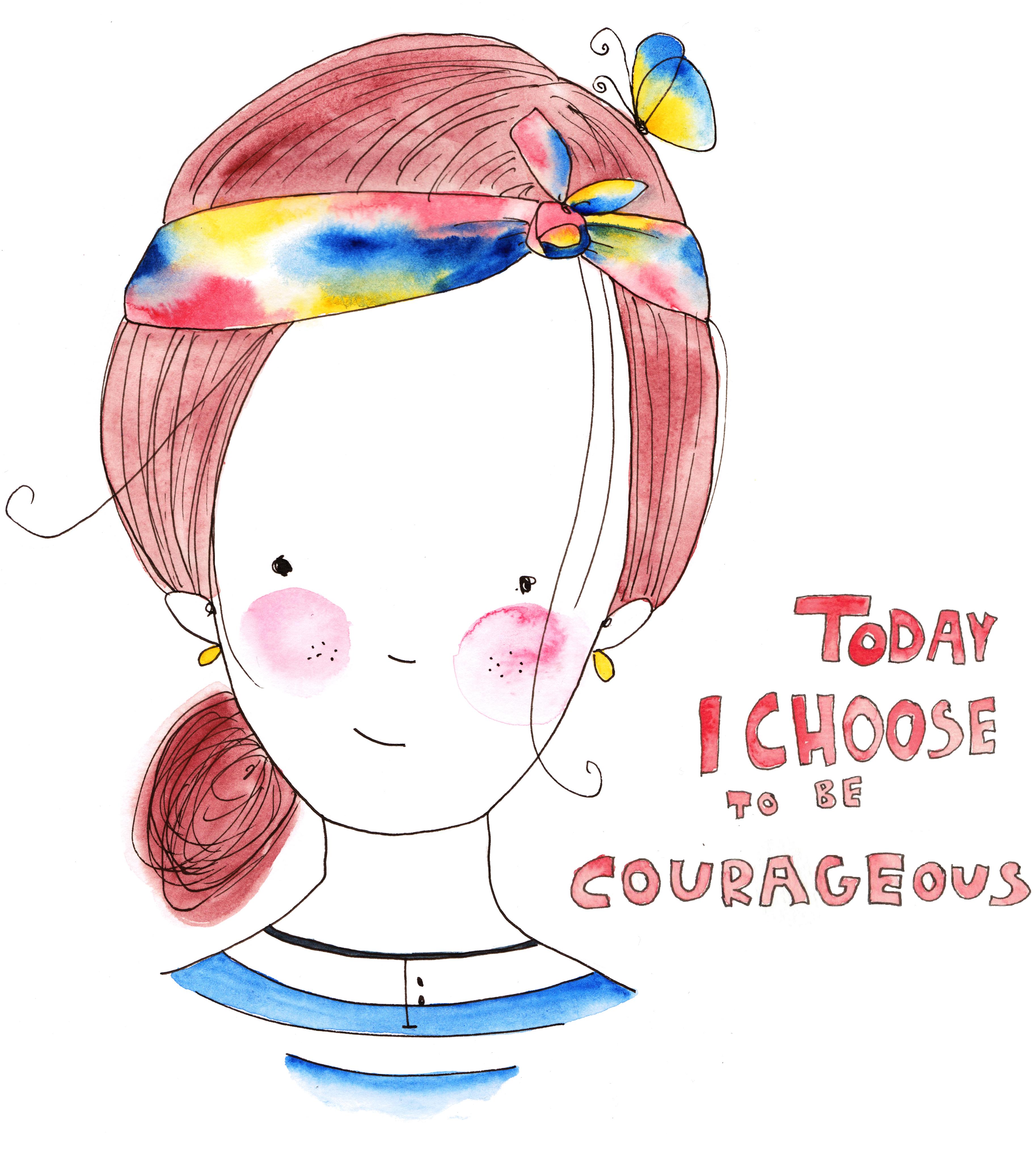 courage_illustration_stefanie_hertel_freewildsoul